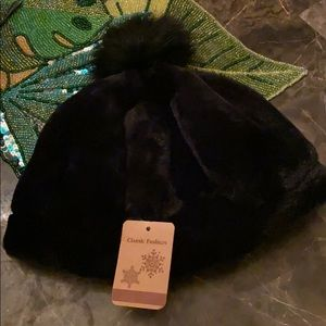 Black Winter Hat!